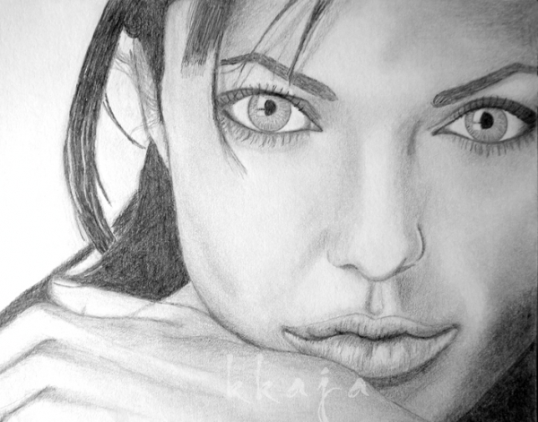 Angelina Jolie by kkaja